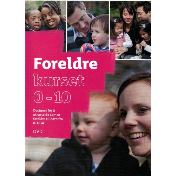Foreldrekurset 0-10 - DVD