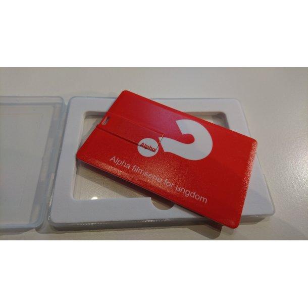 Alpha filmserie for ungdom (USB) - versjon 1