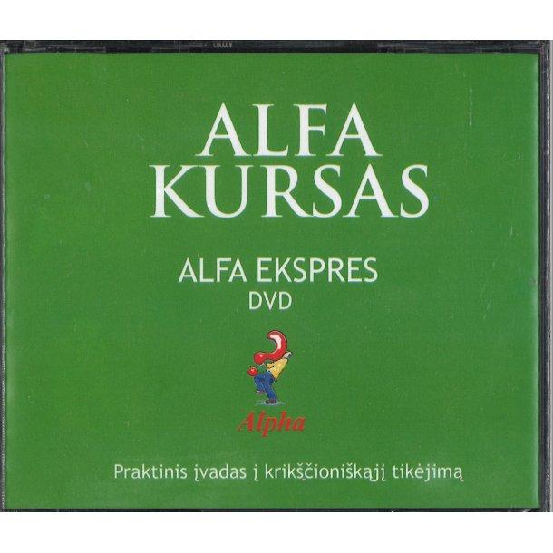 Alpha på DVD - litauisk